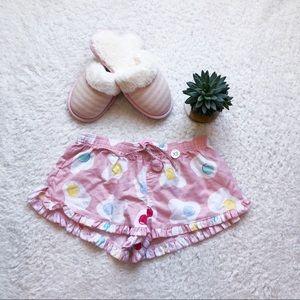 NWT // 🍳 Egg print PJ shorts